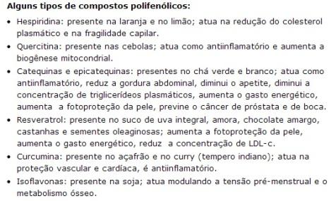 Retirado de http://www.anutricionista.com/os-polifenois-na-nutricao.html