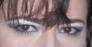 Olhos em verde