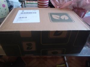 Minha caixa!!! \o/