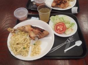 Um almoço quase digno no Buenaventura...