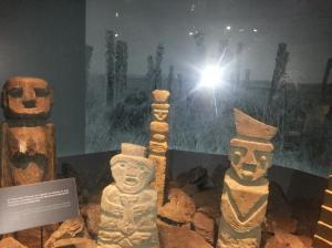 Museu com itens pré-colombianos