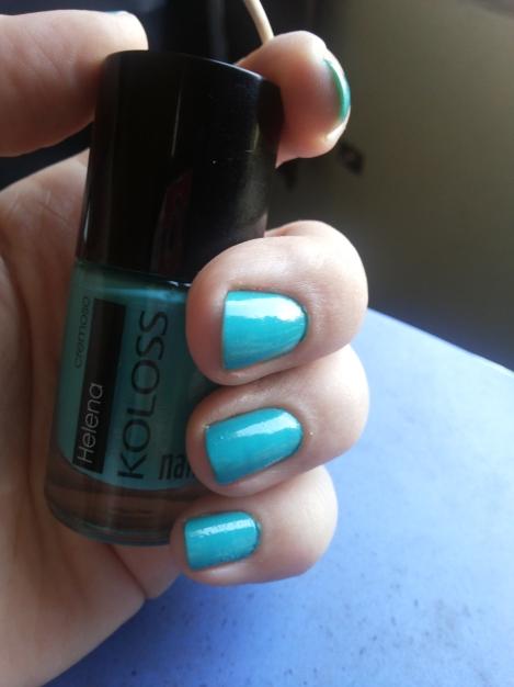 Divindade azul esverdeada...ou verde azulada