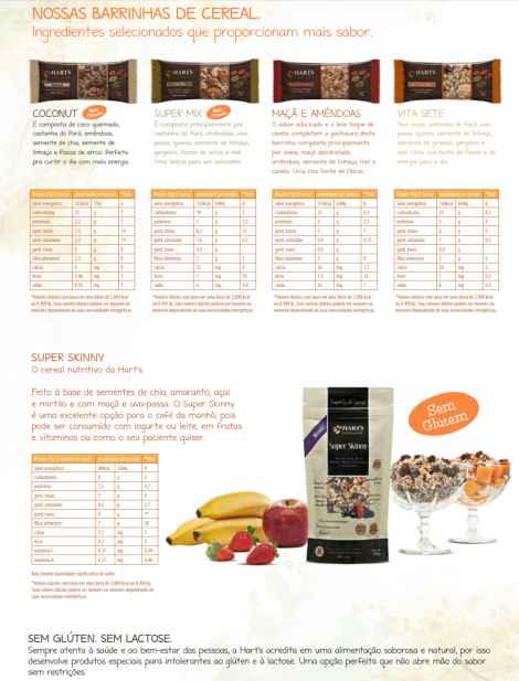 Informações nutricionais_Barras Hart's