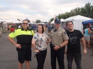 Nós e os Xerifes - sim, eles existem!! :)